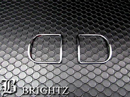 【 BRIGHTZ タントカスタム LA600S LA610S メッキエアコンリング 2PC 】 【 INT−ETC−090−2PC 】
