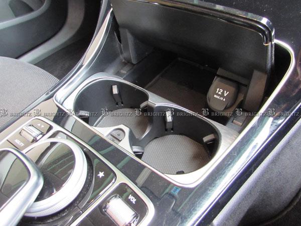 【 BRIGHTZ Cクラス C205 アルミフロントドリンクホルダーカバー 】 【 INT−ETC−015 】W 205 W205 C クーペ C180 C300 AMG メルセデスベンツ ブラバス ロリンザー カールソン Lorinser Carlsson BRABUS Mercedes-Benz