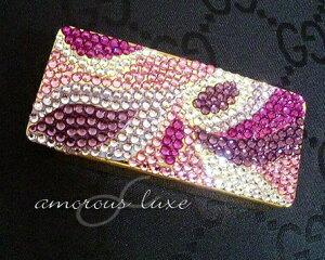 ◆*『Beauty Carpet』*◆Jewelプッチ柄♪ビューティーカーペットフリスクケース(ミントケース)スワロフスキークリスタル(ゴールド台)【designed by amorous∝luxe】