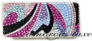 ◆*『poolside』*◆フリスクケース美女サイケデザインプールサイドスワロフスキークリスタルミンティアケース・ストラップなどお揃いオーダーメイドもOK!!