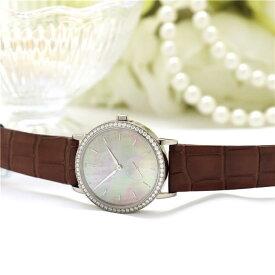 ランゲ&ゾーネ サクソニア レディ 35mm ホワイトゴールド ベゼルダイヤ 878.038 中古レディース 腕時計 送料無料