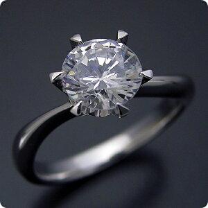 【婚約指輪】1カラット【1ct】ティファニー【エンゲージリング】一粒【ダイヤモンド】ジュエリー【ブライダル】【1カラット版:アームデザインが新しいティファニーセッティングの婚約