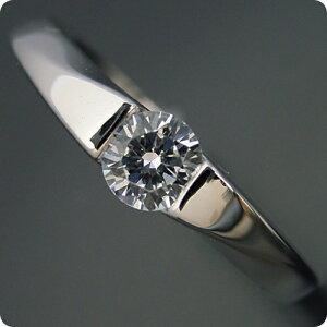 50万円 婚約指輪 0.5カラット エンゲージリング 一粒 ダイヤモンド プロポーズ用 ブライダルジュエリー プラチナ もの凄くスタイリッシュなデザインの婚約指輪 Eカラー・VS1・Excellentカット