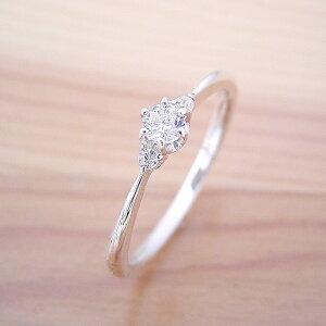 【婚約指輪】ダイヤモンド【エンゲージリング】プラチナ【ピンキーリング】ブライダル【立て爪】一粒【ティファニー】0.1カラット【結婚指輪】0.1ct【ジュエリー】受注生産品「シンプル