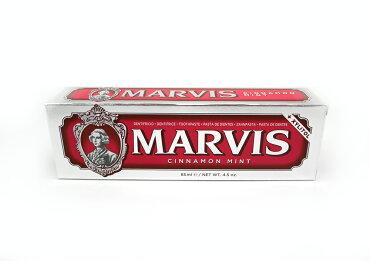 MARVISマービストゥースペースト歯磨き粉85ml【シナモンミント】