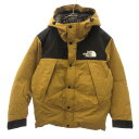 THE NORTH FACE(ザノースフェイス)MOUNTAIN DOWN JACKET ND91930 マウンテン ダウン ジャケット ブルゾン【中古】【程…