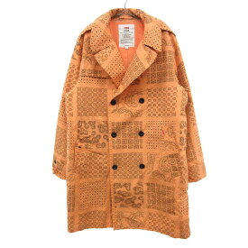 SUPREME(シュプリーム)20SS Military Trench Coat ペイズリー柄 ミリタリートレンチコート オレンジ【中古】【程度AB】【カラーオレンジ】【オンライン限定商品】★AFTER SALE対象 1.16 18:00-1.18 9:59★