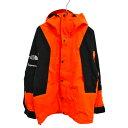 SUPREME(シュプリーム)×THE NORTH FACE 16AW Mountain Light Jacket Power Orange マウンテンライトジャケット パワ…