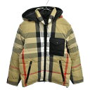 BURBERRY(バーバリー)20AW REVERSIBLE RECYCLED NYLON RE:DOWN PUFFER JACKET リバーシブルナイロンダウンジャケット …