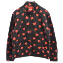 SUPREME(シュプリーム)17SS Hearts Harrington Jacket ハーツハリントンジャケット ハート柄ジップアップブルゾン 総…