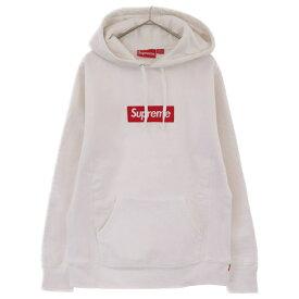 SUPREME(シュプリーム)16AW Box Logo Hooded Sweatshirt ボックスロゴプルオーバーパーカー ホワイト【中古】【程度A】【カラーホワイト】【取扱店舗原宿】