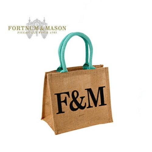 フォートナム&メイソン/Fortnum & Mason F&M エコバッグSイギリス王室御用達【ネコポス便送料無料】【RCP】【送料込み商品と同梱で送料無料/6,500円以上お買い上げで送料無料】