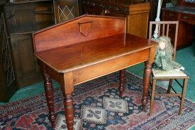 英国 イギリスアンティーク家具 ビクトリアン デスク 机 1890年頃 英国製s33a