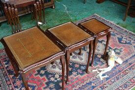 英国 イギリスアンティーク家具 ネストテーブル コーヒーテーブル 1960年頃 英国製n118-1