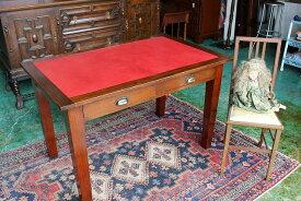 イギリスアンティーク家具 レザートップデスク デスク テーブル 机 1920年頃 英国製 s210