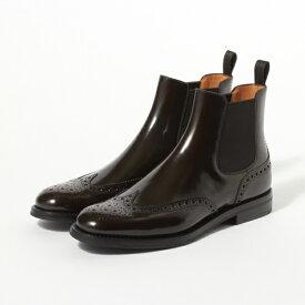 【Church's/チャーチ】KETSBY LADIES BLACK【レディース 革靴 ブーツ ウィングチップ サイドゴア チャーチ】:BRITISHMADE ブリティッシュメイド【イタリア製】【送料無料】