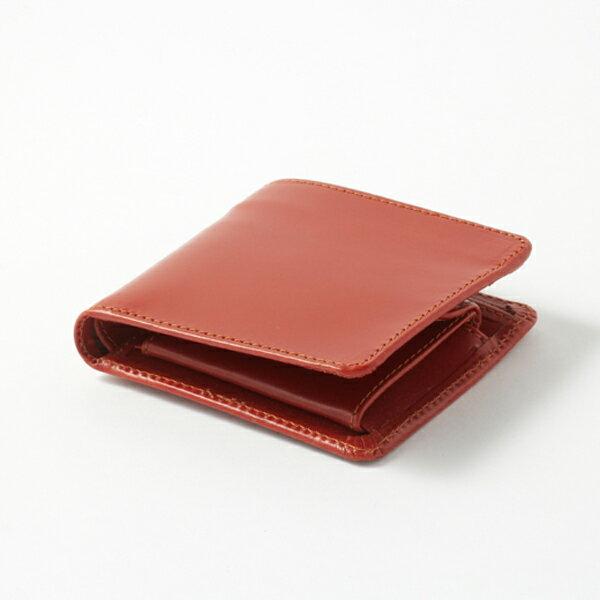 【GLENROYAL/グレンロイヤル】HIP WALLET WITH DIVIDER (フルブライドル)(財布 レディース メンズ 二つ折り レザー 本革 小銭入れ コンパクト 誕生日 ギフト)