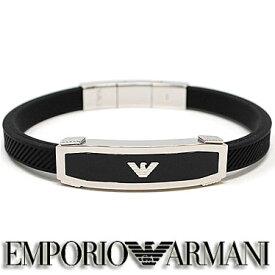 エンポリオ アルマーニ EMPORIO ARMANI ブレスレット ラバー EGS1543040 ステンレスアクセサリー