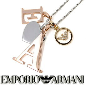 エンポリオ アルマーニ ネックレス EMPORIO ARMANI ペンダント EGS2455221 ステンレスネックレス
