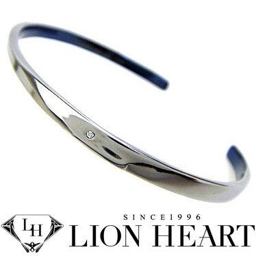 ライオンハート ブレスレット メンズ バングル LION HEART 04B124SM ステンレスアクセサリー 【楽ギフ_包装】【楽ギフ_メッセ入力】【RCP】