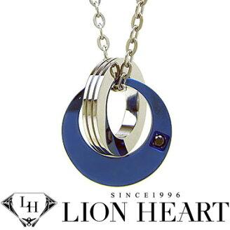 ライオンハートLIONHEARTネックレスメンズ04N153SMステンレスネックレス