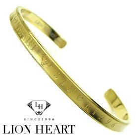 ライオンハート ブレスレット メンズ バングル LION HEART LHMB003N ステンレスアクセサリー 【楽ギフ_包装】【楽ギフ_メッセ入力】【RCP】