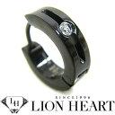 ライオンハート ピアス LION HEART シングルフープピアス メンズ LHMP001N ステンレスアクセサリー