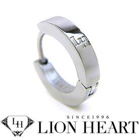 ライオンハート ピアス LION HEART シングルフープピアス メンズ LHMP006NS ステンレスアクセサリー