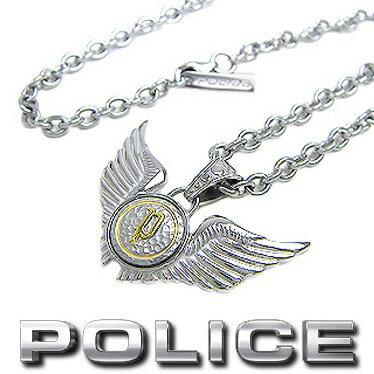 ポリス POLICE ネックレス DOUBLE WINGS 20733PSG02
