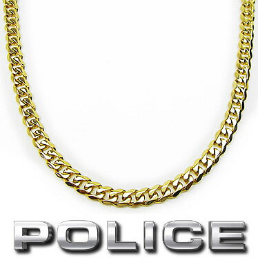 ポリス POLICE ネックレス SIN 25490PSG02 ゴールドカラー ステンレスネックレス
