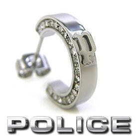ポリス ピアス POLICE シングルフープピアス メンズ DARIEN 26398ESS01 ステンレス