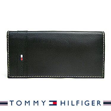 トミーヒルフィガー 財布 TOMMY HILFIGER メンズ 長財布 ブラック 31TL19X016 【楽ギフ_包装】【楽ギフ_メッセ入力】【RCP】