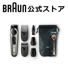 2019年新製品 BRAUN (ブラウン) 電動バリカン ヒゲトリマー BT7040 0.5mm幅 39段階長さ調節 水洗い可