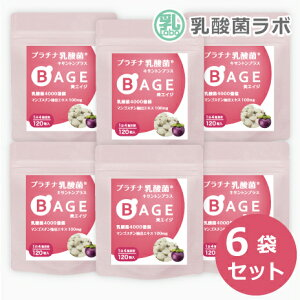 20%OFF 乳酸菌 サプリ & 糖化ケア 美エイジ6袋セット(6ヶ月分)腸内フローラ 美容 菌活乳酸菌 乳酸菌 タブレット AGE対策