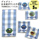 名入れ 刺繍 ポケットタオル トミカ 5枚 名前 子供 男の子 女の子 ギフト ハンドタオル キャラクター ORかわいい ガー…