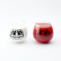 floydダルマグラス商品紅白使用イメージ