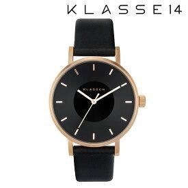 【2年保証】【正規取扱店】KLASSE14 クラス14 Volare Dark Rose VO16RG005W 36mm BLACK/BLACKklasse14 腕時計 ペアウォッチ レディース メンズ 人気 ブランド ● 送料無料● ラッピング無料