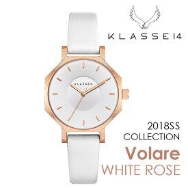 【新作】【2年保証】KLASSE14 OKTO WHITE ROSE OK18RG003S 28mm 正規取扱店 クラス14 ホワイトローズ ホワイト 腕時計 レディース メンズ 人気 ブランド ● 送料無料● ラッピング無料
