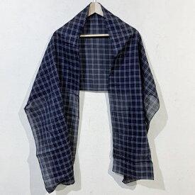 BALENCIAGA バレンシアガ ストール チェック グレー系 【メンズ】【中古】