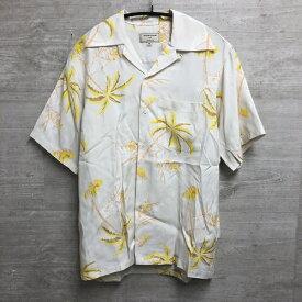 MAISON KITSUNE Kona Bay Hawaii Aloha メゾンキツネ コナベイハワイ アロハ アロハシャツ XS イエロー 【中目黒b8】【中古】【メンズ】