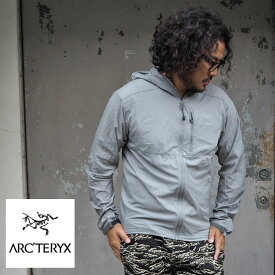 ARC'TERYX アークテリクス Squamish hoody ナイロンパーカー 13647 メンズ ジャケット マウンテンパーカー レディース スコーミッシュ フーディー グレー マンパ