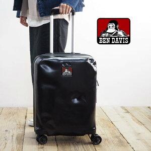 BEN DAVIS ベンデイビス CARRY CASE S BD101-BENDAVISキャリーケース スーツケース キャリーバッグ キャリー メンズ レディース 鞄 バッグ かばん 機内持ち込み Sサイズ おしゃれ 30L 黒 ブラック トラベ