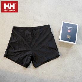 HELLY HANSEN ヘリーハンセン ボクサーショーツ 海パン 水着 メンズ Boxer Shorts HH72001 ボクサーパンツ ボクサー ショーツ パンツ インナー サーフ インナーショーツ 海 プール 海水浴 アウトドア キャンプ 山 川 UVプロテクト 黒 ブラック