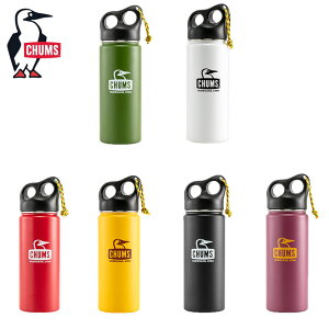 CHUMS チャムス 水筒 ボトル 550ml Camper Stainless Bottle 550 CH62-1391 H8L メンズ レディース マグボトル キャンパー アウトドア ステンレス ステンレスボトル おしゃれ キャンプ ブランド ロゴ 大人 子