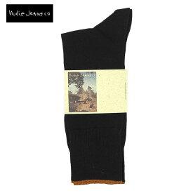 Nudie Jeans ヌーディージーンズ くつ下 42161-7005 靴下 socks ソックス クルーソックス ビジネス メンズ 男性用 ギフト プレゼント ブランド おしゃれ シンプル 無地 大人