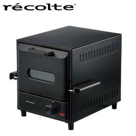 recolte レコルト スライドラックオーブンデリカ RSR-1 H12Hオーブン オーブントースター 縦型 スライドラック コンパクト おしゃれ かわいい 家電 インテリア トースト プレゼント 贈り物 ギフト 黒 ブラック