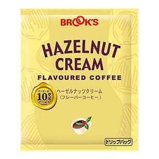 ブルックス ドリップバッグ フレーバーコーヒー ヘーゼルナッツクリーム 40袋 [BROOK'S/BROOKS]