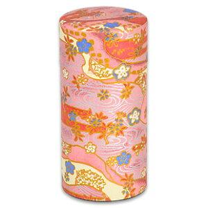 【ブルックス】おこのみ茶筒 四季彩(ピンク)茶の葉を茶筒に入れ替えて心静かにお茶を淹れると、いつもの茶葉がより一層、美味しく感じられるはず[BROOK'S/BROOKS]