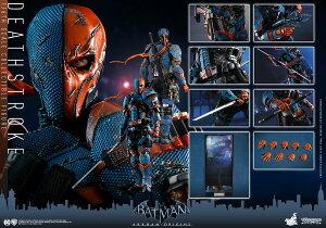 Hottoys ホットトイズ VGM 30 『バットマン:アーカム・ビギンズ』デスストローク1/6 スケールフィギュア Batman Arkham Origins - Deathstroke