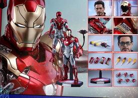 「予約品」Hottoys ホットトイズ MMS427D19 - 『スパイダーマン:ホームカミング』 アイアンマン・マーク47 「再生産」 1/6スケールフィギュア Spider-Man Homecoming - Mark 47 [Reproduction]